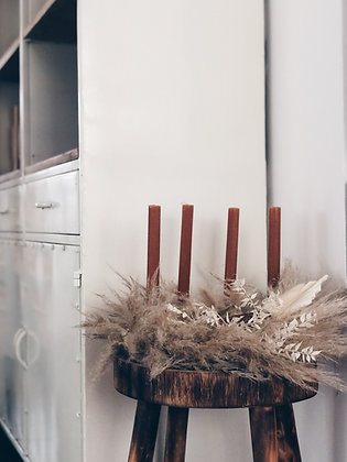 Home pakket // Bohemian Adventkrans - 30 dia 🕯
