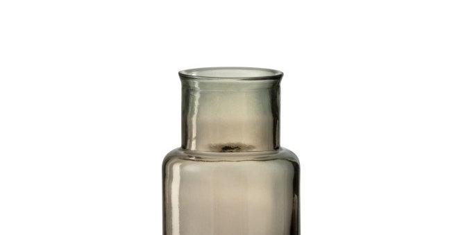 Vaas Cilinder Glas Lichtbruin
