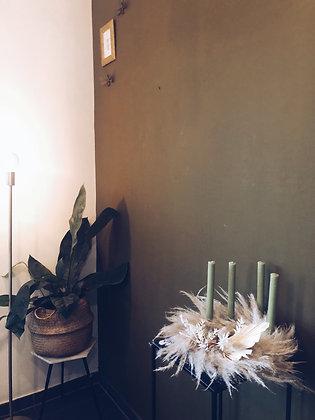 Home pakket // Bohemian Adventkrans - 25 dia 🕯