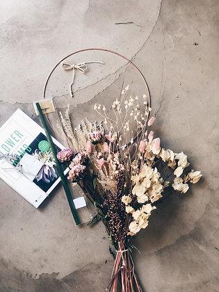DIY HOME PAKKET // FLOWER HOOP