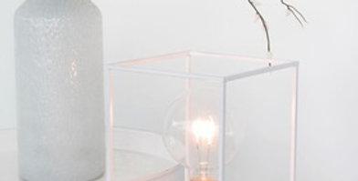 Lamp Rechthoekig Metaal Wit