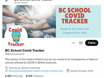 Frustrated BC School Moms Start Grass Roots COVID Tracker