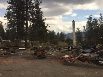 Okanagan Indian Band Starts GoFundMe Campaign to Restore Fire Losses