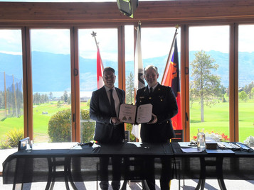 Westbank First Nation and RCMP Sign Historic Agreement