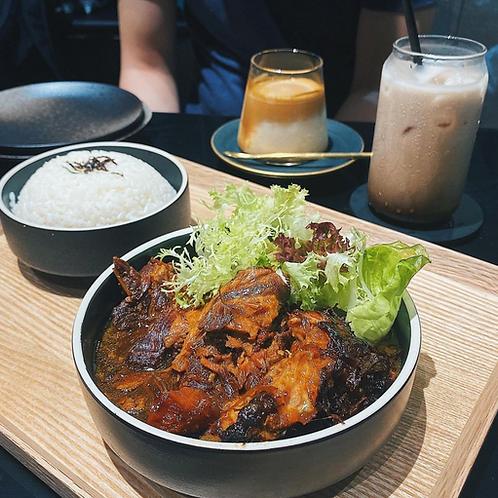 日式慢燉豬軟骨配珍珠米