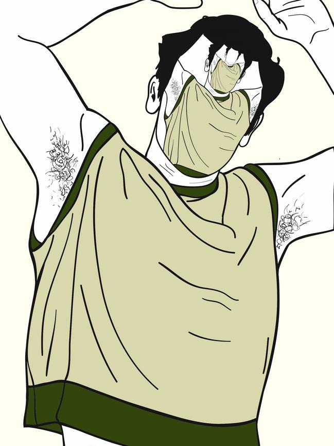 sleeveless.