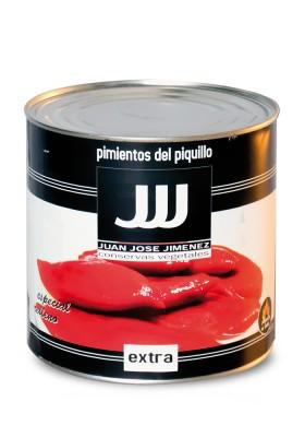 PIMIENTOS DEL PIQUILLO EXTRA 60/80 LATA DE 3 KGS.