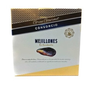 MEJILLONES EN ESCABECHE GRAN GOURMET 16/20 PIEZAS - RO 280