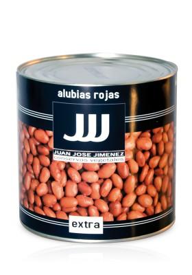 ALUBIAS ROJAS COCIDAS LATA DE 3 KGS.