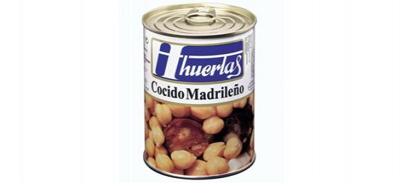 COCIDO MADRILEÑO - LATA DE 1/2 KG.