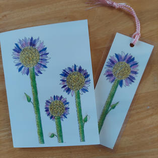 Note card & bookmark