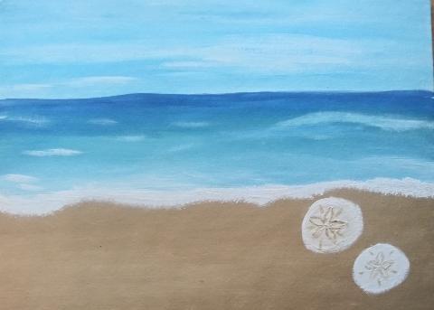 Pintarse Beach Vibes Sand Dollar