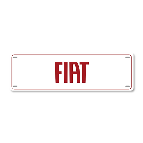 Cobre Placa Personalizada Para Carros