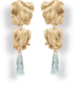 Boucles d'oreilles squelette et marionite n°3