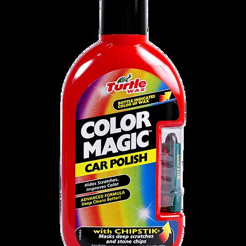 美國龜牌 T-375KTR色蠟連補色筆 - 紅色(16安士) - Color Magic Car Polish - Red (16oz)
