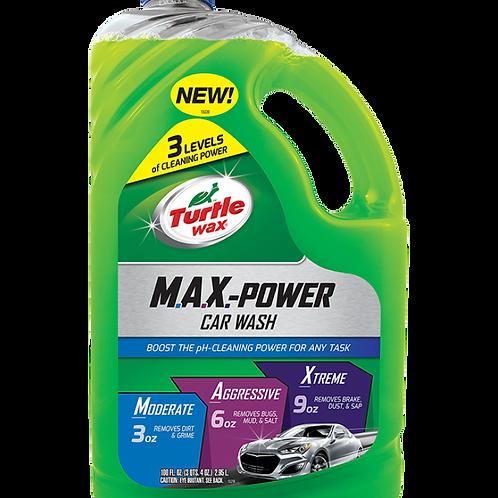 美國龜牌 T-50597超強效洗車液 (100安士) - M.A.X. Power Car Wash (100oz)