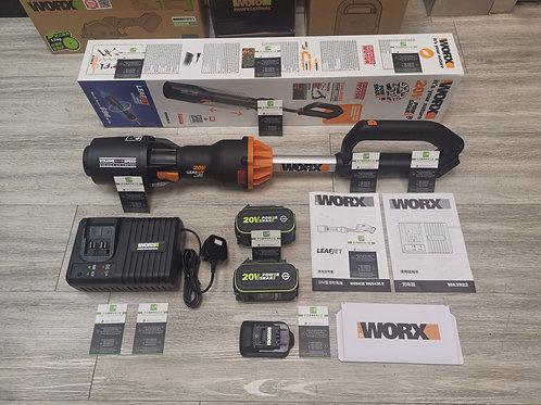 WORX威克士 WG543E 20V 無刷鋰電吹風機雙電套裝 - Cordless lithium brushless blower