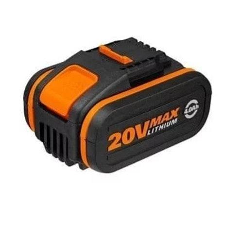 WORX 威克士 WA3553 20V 4.0Ah橙色鋰電池