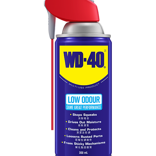 WD-40® WD 88153 萬能防銹潤滑劑-少味配方(300毫升)-Multi-Purpose Anti-Rust Lubricant-Low Odour