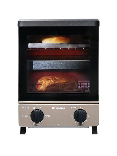 Rasonic 樂信 RTN-T10B 雙層多士焗爐10升 (啡色) - Double-Layer Toaster Oven 10L (Brown)