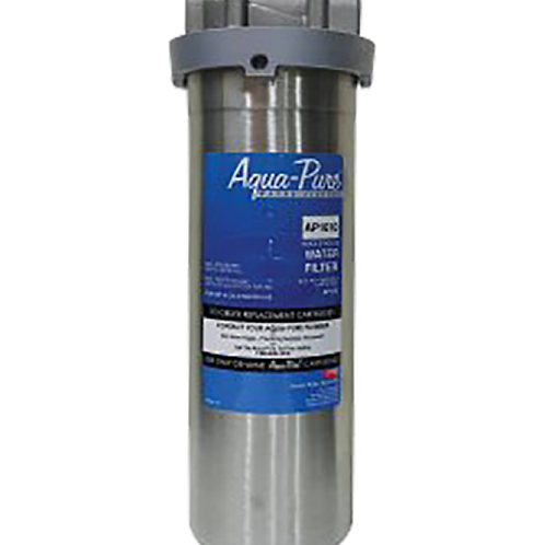 3M™ Aqua-Pure™ AP1610 掛牆式不銹鋼濾水器 - Whole House Stainless Steel Water Filter