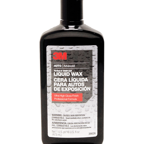 3M™ Perfect-It™ PN39026 皇牌水晶蠟 (16OZ) - PN39026 Liquid wax (16OZ)