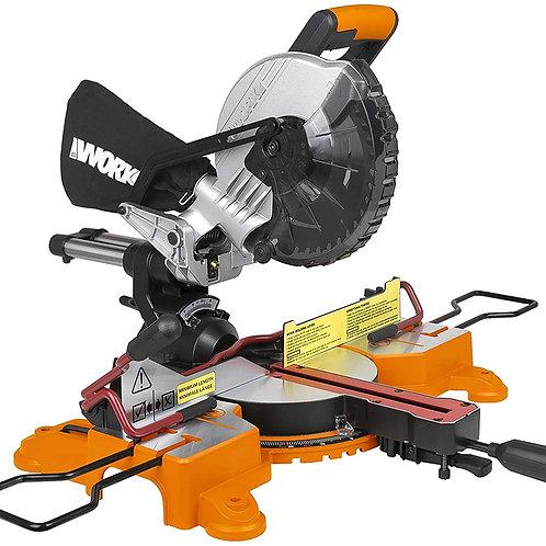 WORX 威克士WX845.91 20V鋰電210mm推拉式鋸鋁機(淨機) -Lithium sliding mitre saw(Tool only)