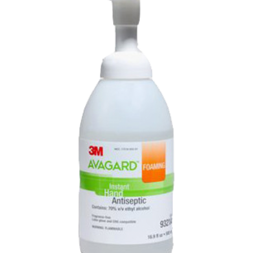 3M™ AVAGARD™ 9321A即時快速免過水消毒搓手泡沫(500毫升)-FoamingInstantHandAntiseptic