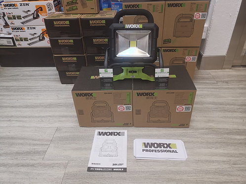 WORX 威克士 WU026.9 20V鋰電LED工作燈(淨機) - Lithium LED worklight(Tool only)