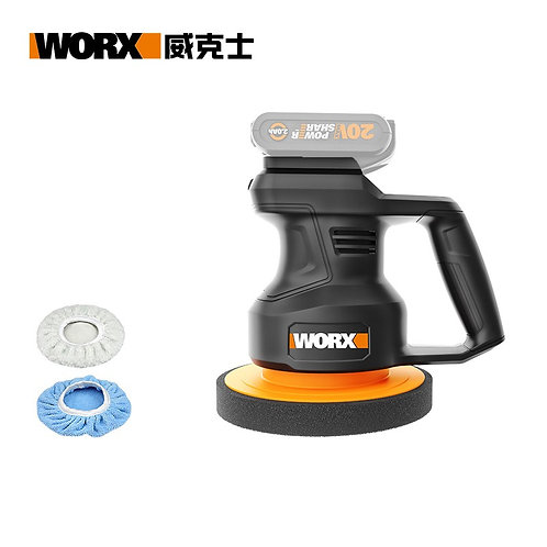 WORX 威克士 WX858.9 20V 鋰電汽車打蠟拋光機(淨機) - Lithium waxing polishing machine(Tool only)