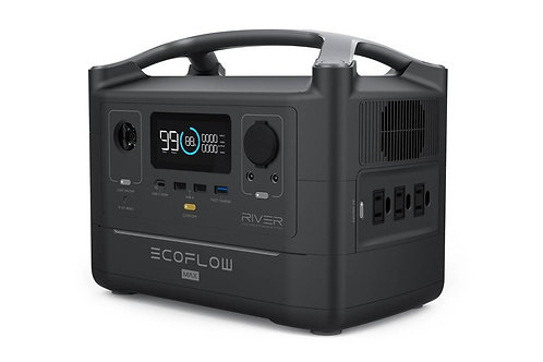 EcoFlow RIVER 600 Max (EF4-MAX) 電能站 - Portable Power Station