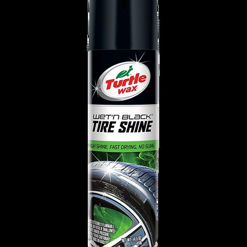 美國龜牌 T-347R光黑輪胎保護噴劑 (14.5安士) - Wet'N Black Tire Shine (14.5oz)