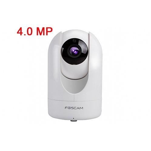P2P FOSCAM R4 網路攝影機4.0百萬高清2560 X 1440P卡儲存白色