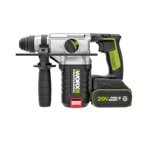 WORX 威克士 WU388.5 20V鋰電無碳刷電錘(油壓鑽) - Cordless Brushless Hammer(Hydraulic Drill)