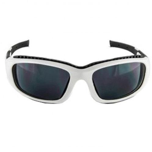 3M™ SS1502AF-W 安全太陽眼鏡 - 白框灰鏡, 防霧鏡片-Safety Sunwear,White Frame,Gray Anti-Fog Lens