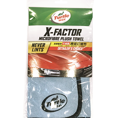 美國龜牌 TWA-160A 不掉絮專業打蠟布 - X-FactorMicrofibre Plush Towel