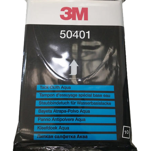 3M™ 50401 專業除塵布 32X40CM (10片裝) - Tack Cloth Aqua 32X40CM (10PCS)