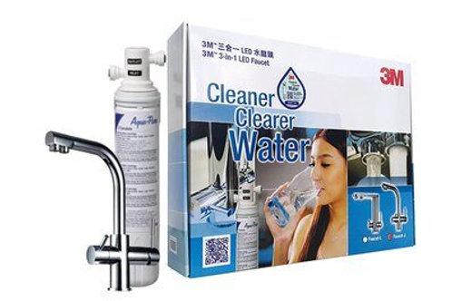 3M™ 全效型濾水系統 AP Easy Complete (配三合一LED水龍頭J)