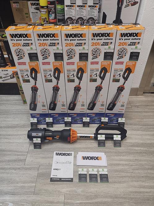 WORX 威克士 WG543E.9 20V 無刷吹風機(淨機) - Cordless lithium brushless blower(Tool only)
