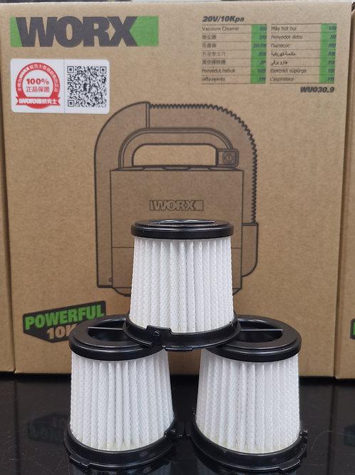 WORX 威克士 60053998 無線迷你吸塵機海帕濾芯 HEPA filter(WU030 / WX030 無線迷你吸塵機專用)