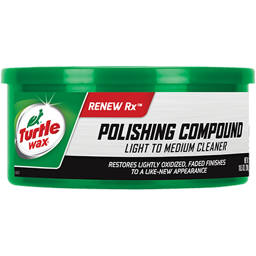美國龜牌 T-241A白色磨光粗蠟(10.5安士) - Polishing Compound Light To Medium Cleaner(10.5oz)