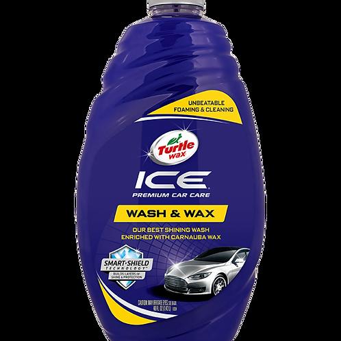 美國龜牌 T-472R冰瑩頂級洗車液 (48安士) - Ice Car Eash & Wax (48oz)