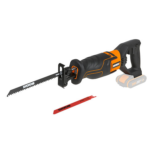 WORX 威克士 WX500.9 20V 鋰電輕型老虎鋸(淨機) - Lithium reciprocating saw(Tool only)