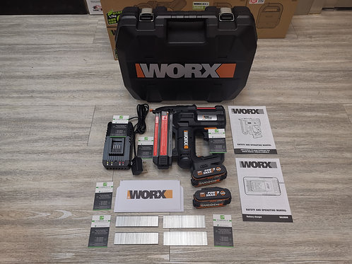 WORX 威克士 WX840 20V 鋰電釘槍(可打F型碼釘 / J型碼釘 / K型碼釘) - LithiumNail / Staple Gun