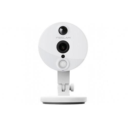 FOSCAM C2 P2P 1080P高清無線網路攝影機120°視角卡儲存白色