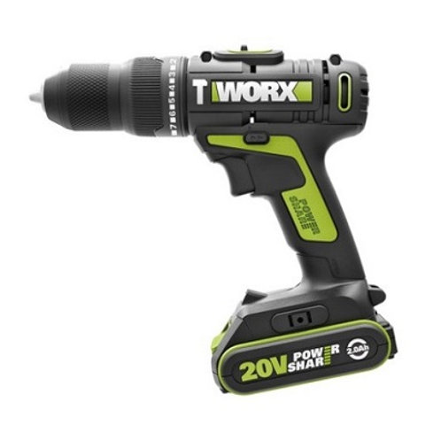 WORX 威克士 WU179 20V鋰電雙速衝擊電鑽 Lithium Ion Two-speed Impact Drill
