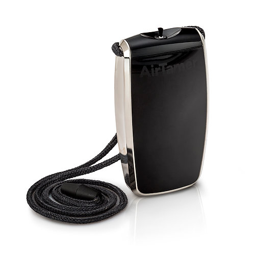 AirTamer A320 雅達瑪穿戴式負離子抗菌空氣淨化器 USB充電 (黑色)