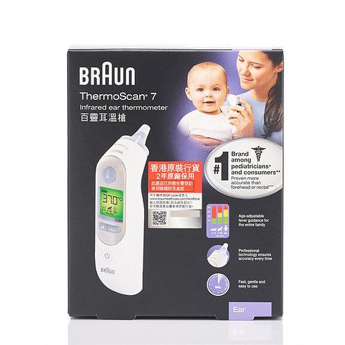 BRAUN 百靈 IR6520 ThermoScan® 7 耳溫槍 - Ear ThermoScan