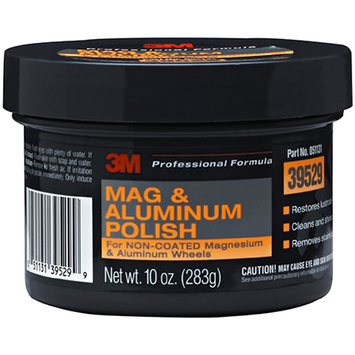 3M™ PN39529 汽車鎂鋁拋光劑 (10OZ) - Alum Mag Restorer Polish (10OZ)