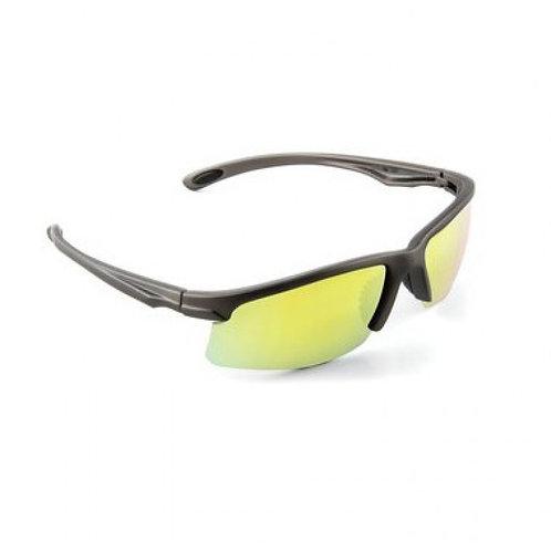 3M™ SS1330AS-G 安全太陽眼鏡 - 灰框黃鏡(鏡面)-Safety Sunwear, Gray Frame, Yellow Mirror Lens